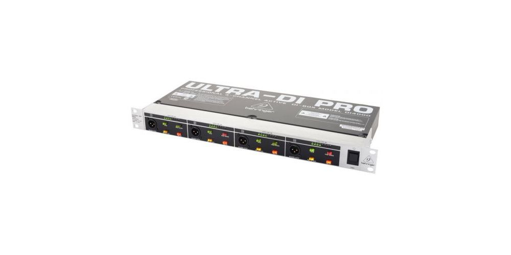behringer di4000 interface