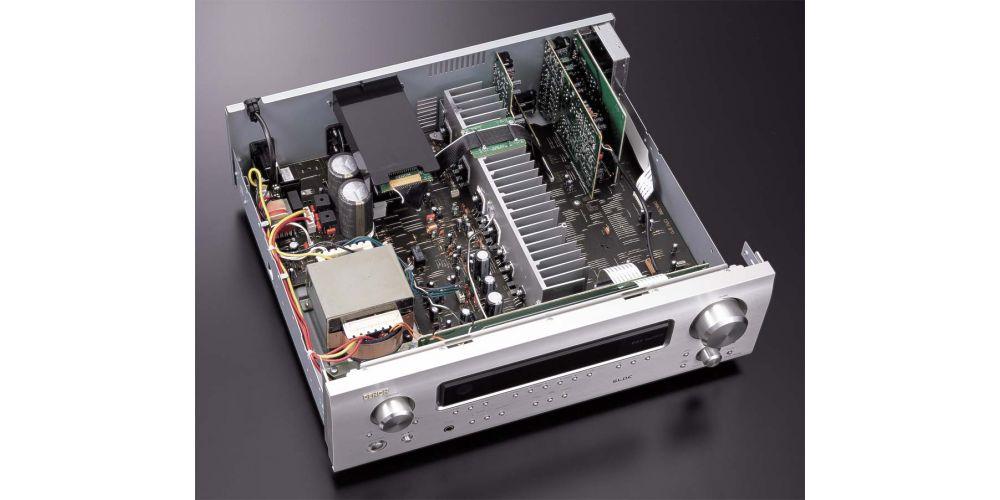 denon dra 700 silver receptor estereo plateado fabricacion componentes