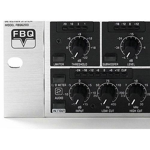 BEHRINGER FBQ6200 Ecualizador Behringer FBQ-6200 Und.