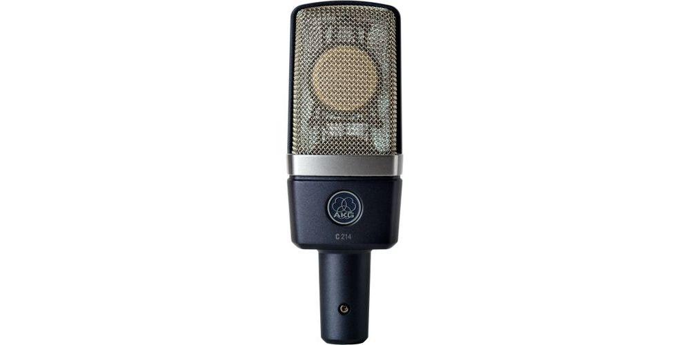 AKG C-214 Microfono Condensador Especial Studio Vocal C214  Unidad
