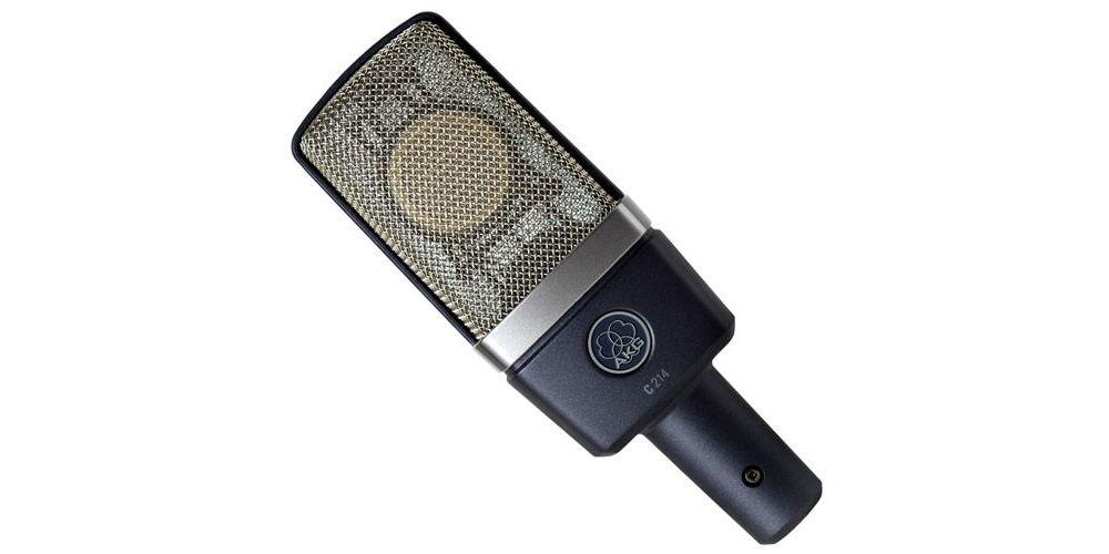 akg c214 microfono studio
