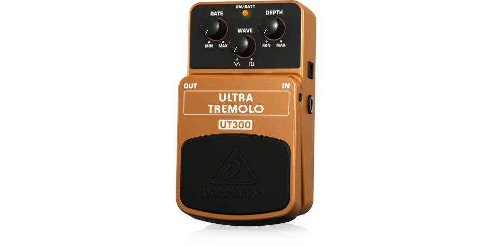 behringer UT300 pedal ultra tremolo