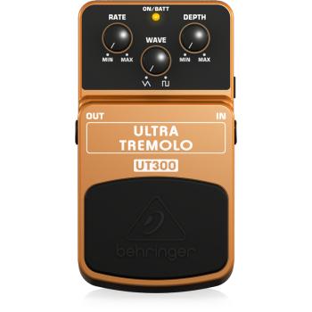 BEHRINGER UT300 Pedal Guitarra Efecto Ultra Tremolo
