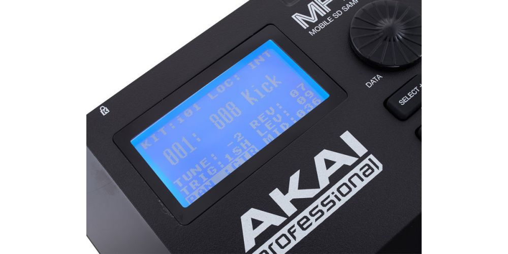 akai mpx8 display