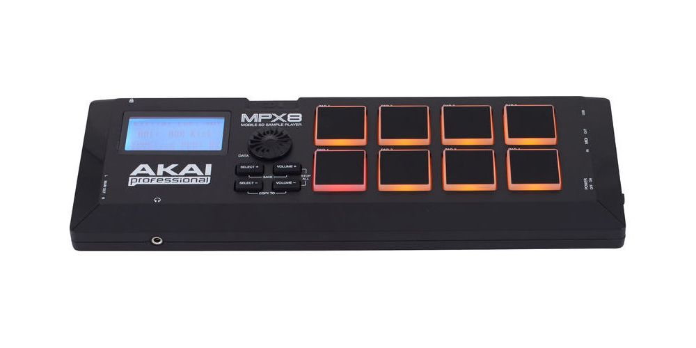 akai mpx8 front