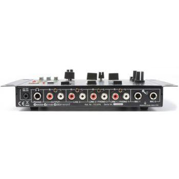 SKYTEC STM-3020 Mezclador de 4 canales con USB/MP3 Negro 172976
