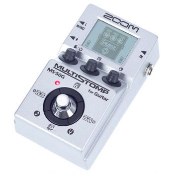 Zoom MS50G Pedal MultiEfectos