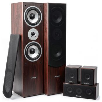 Fenton 100333 Sistema Home Theatre 5.0 Nogal
