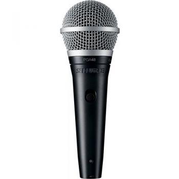 SHURE PGA48 XLR Micrófono cardioide dinámico para voces