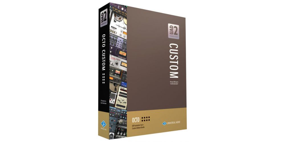 universal audio uad2 octo custom box
