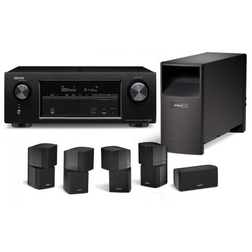 DENON AVR-X1200-AM10-IV Black  Receptor Home Cinema