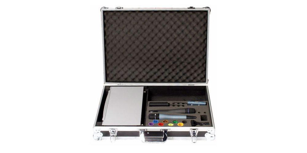 dap audio case for er216 wireless mic d7431b open