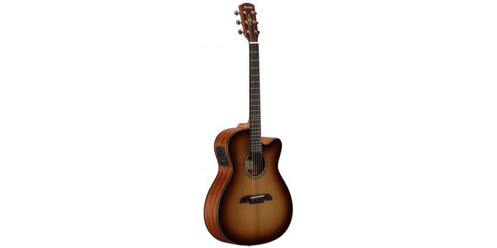 guitarra folk af60ce artist folk sunburst