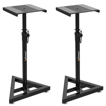 2 Soportes suelo para Monitor de Estudio STAND Neo SM1 AUDIBAX