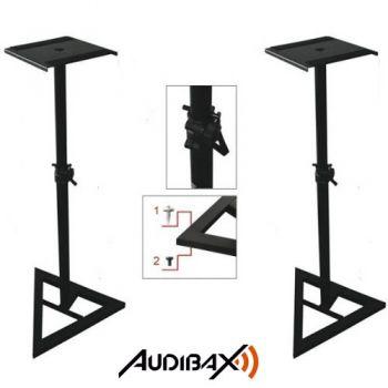 2 Soportes suelo para Monitor de Estudio STAND-SM1 AUDIBAX