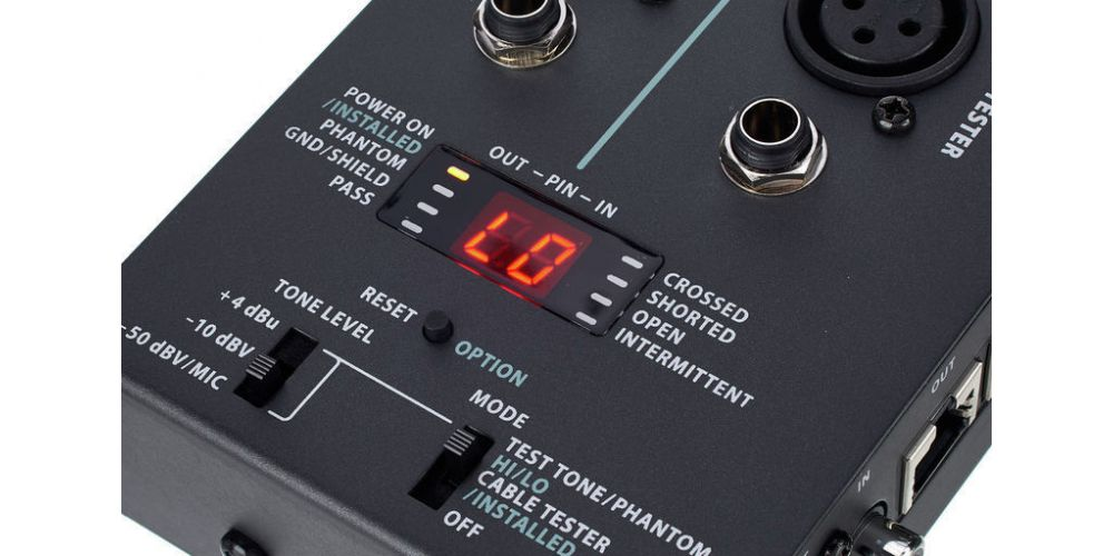 behringer ct200 tester cable 5
