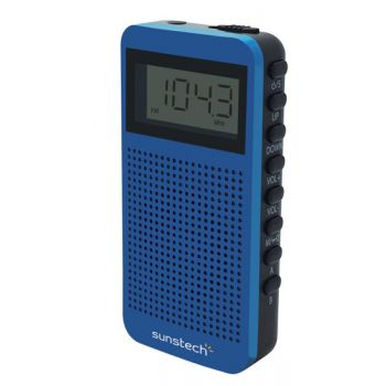 SUNSTECH RPDS12 Azul Radio Digital Portátil