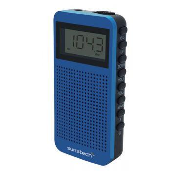 SUNSTECH RPDS12 Azul Radio Digital Portátil