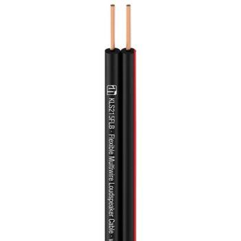 Adam Hall KLS 215 FLB Bobina able de altavoz 2 x 1,5 mm² negro 100m