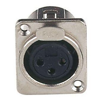 DAP Audio Conector XLR Hembra Chasis 3P RF:XFC103N