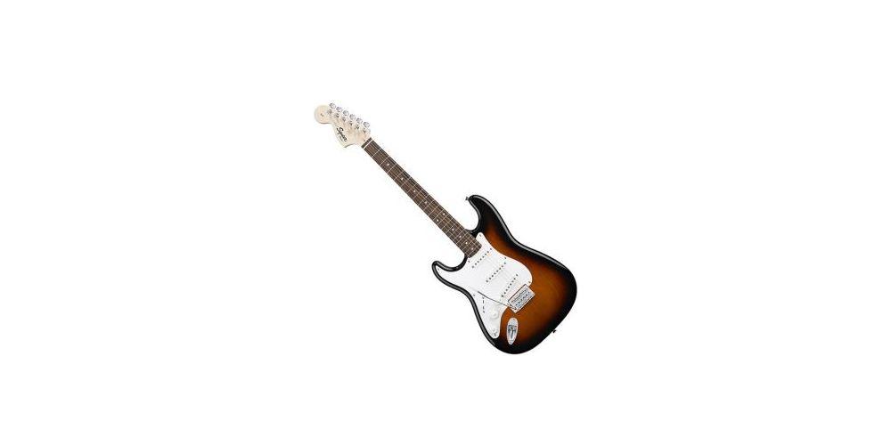 Fender Squier Affinity Strat Lh Zurda Bsb