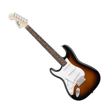 Fender Squier Affinity Serie Stratocaster Left-Handed Brown Sunburst