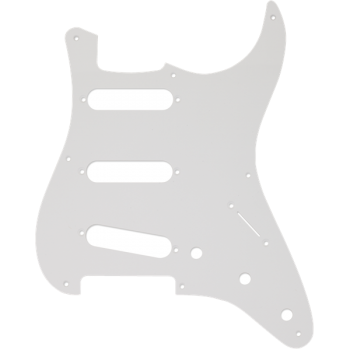 Fender Golpeador Stratocaster S/S/S 8-Hole Mount Blanco 1-Ply
