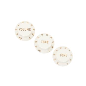 Fender Stratocaster Knobs Conjunto de tres botones de control