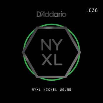 D´addario NYNW036 Cuerda Suelta para Guitarra Eléctrica