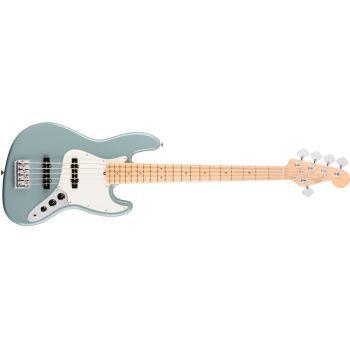 Fender American Pro Jazz Bass V Maple Fingerboard Sonic Gray