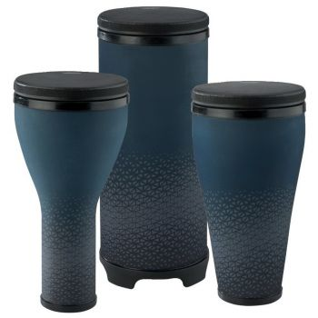 Remo Djembe,Timbau,Tubano Sets Festival Combo Pack Royal Blue