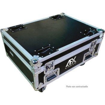 AFX Light FL6 PAR LED 100Z FLIGHT CASE