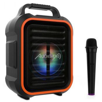 Audibax Denver Combo 6 Portable. Sistema Bluetooth con Batería Recargable y Micrófono Inalámbrico
