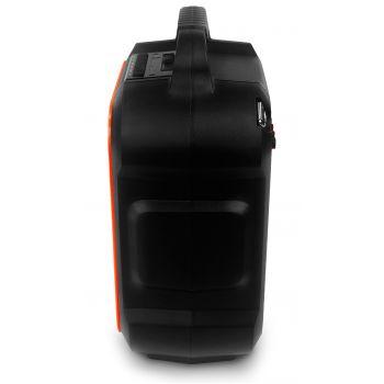 Audibax Combo PORT6-VHF Sistema Bluetooth con Batería Recargable y Micrófono Inalambrico