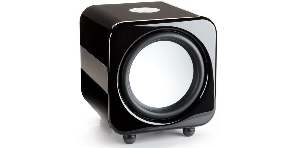 monitor audio aw12 black subwoofer negro