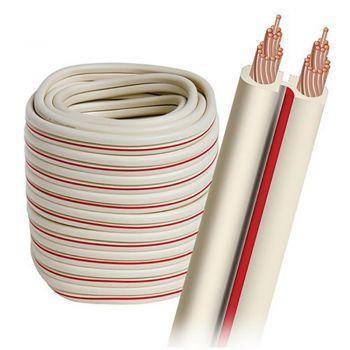 Audioquest X-2W-30FT Rollo de Cable de altavoz de 9 metros y 2,08mm Color Blanco