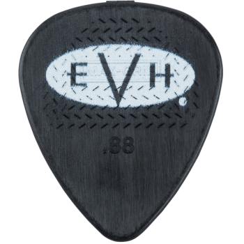 EVH Púas Signature Black-White Pack 6 Unidades