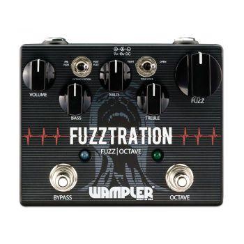 Wampler Fuzztration Fuzz/Octaver Pedal de Efectos