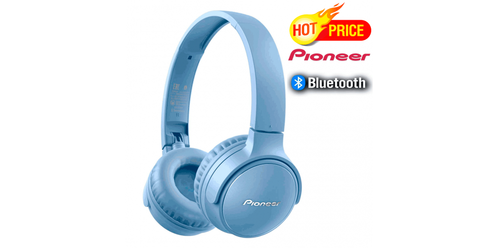 auriculares bluetooth pioneer OVER EAR