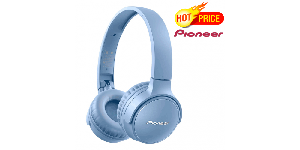 auriculares bluetooth pioneer plegables
