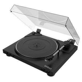 Wiibo Lyra 100 Plato Giradiscos con Previo Phono y Cápsula Audio Technica
