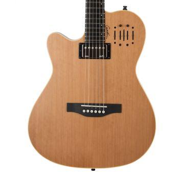 GODIN A6 Ultra Natural LH. Guitarra Acústica para Zurdo + Funda