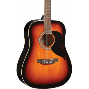 Eko Ranger VI Brown Sunburst Guitarra Acustica