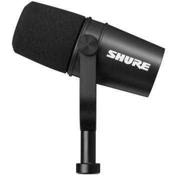SHURE MV7X Micrófono Vocal XLR Negro