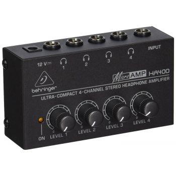 Behringer HA400 Amplificador Auriculares
