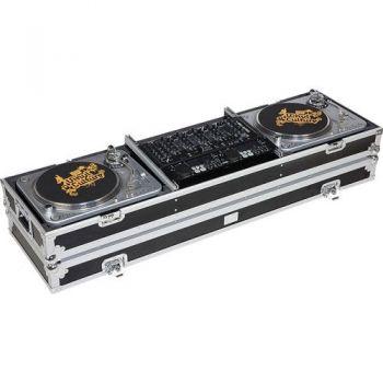 Walkasse  WM-DJ19 Maleta Con ruedas 2 Giradiscos + mixer 19