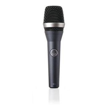 AKG D-5 Micrófono Vocal D5 Para Directo. Incluye Bolsa y Pinza