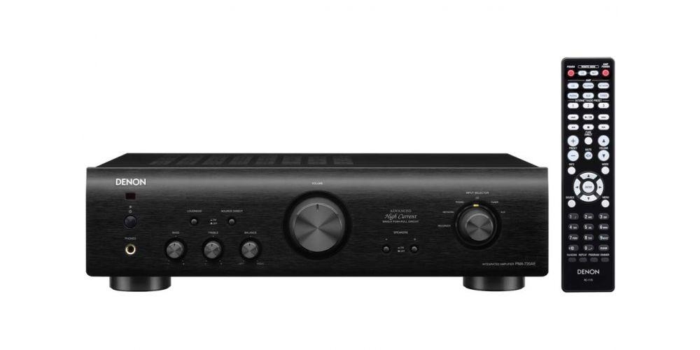 denon pma720 black amplificador estereo mando