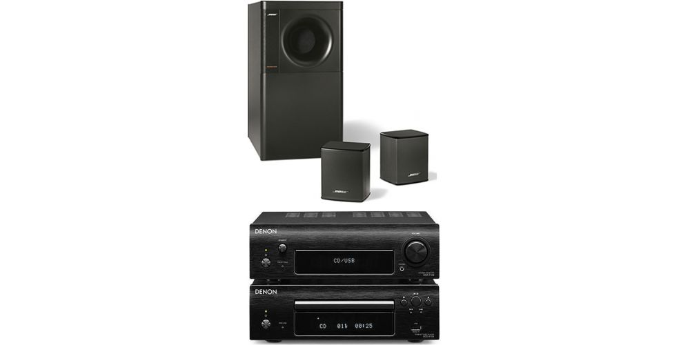 denon df109 bose am3 negro