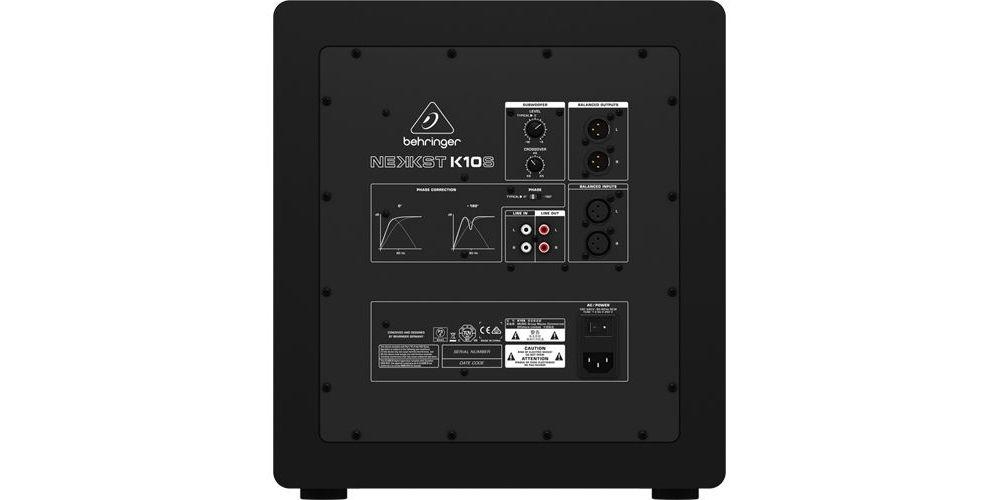 BEHRINGER K10S Monitor Estudio, Subwoofer